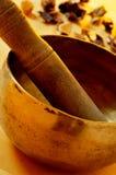 西藏唱歌碗 免版税图库摄影
