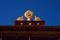 西藏圣洁标志 库存图片