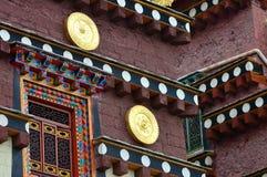 西藏寺庙详细资料  库存图片