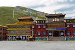 西藏寺庙 库存图片