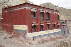 西藏寺庙 免版税库存照片