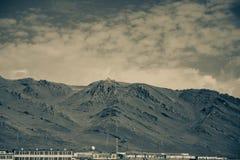 西藏山 免版税库存图片
