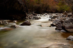 西藏河 免版税图库摄影