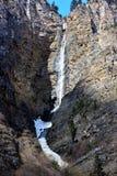 西藏瀑布 库存照片