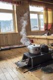西藏火炉 库存图片