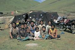 西藏牧人 免版税图库摄影