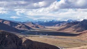 西藏的圣洁山 库存照片