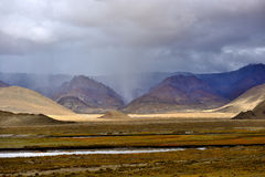 西藏的风景 免版税库存照片