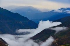 西藏的风景 免版税图库摄影