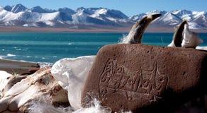 西藏纳木错湖 图库摄影