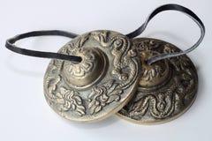 西藏编钟 库存图片