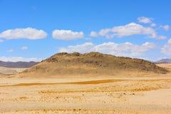 西藏草原和沙漠 免版税库存图片