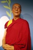 西藏蜡雕象的第14达赖喇嘛 免版税图库摄影