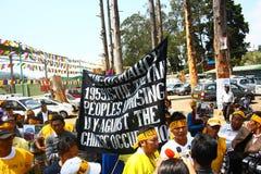 在Oo的西藏起义日周年纪念庆祝 免版税图库摄影