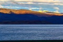 西藏阿里风景 库存照片