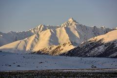 西藏雪山 免版税图库摄影