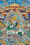 西藏,中国的宗教绘画 库存图片