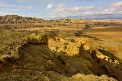 西藏guge朝代废墟 免版税图库摄影