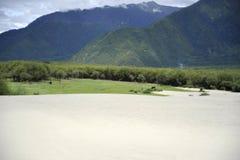 西藏nyingchi 库存图片