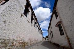 西藏potala室 图库摄影