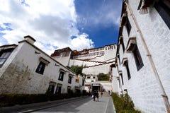 西藏potala 免版税库存图片