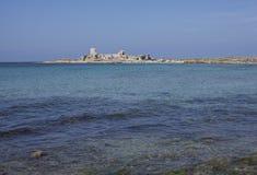 西西里人海废墟,采取两 库存照片