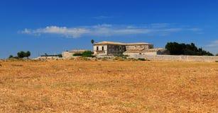 西西里人的别墅 库存照片