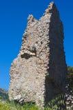西西里人的废墟 免版税库存图片