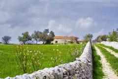 西西里人的横向 免版税图库摄影