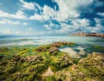 西西里人的海岸意大利 库存照片