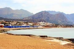 西西里人的海岸 库存图片