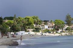 西西里人的海岸 免版税库存图片