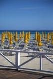 西西里人的海滩 免版税库存图片