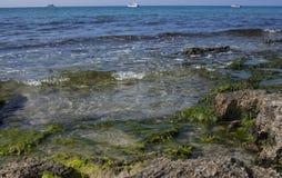 西西里人的海 免版税库存图片