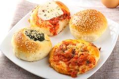 西西里人的烤肉店 免版税库存照片