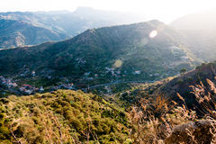 西西里人的谷 免版税图库摄影