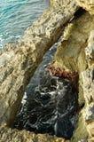 西西里人的coast3 库存照片