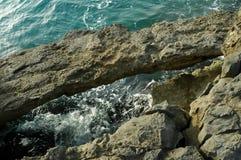 西西里人的coast7 图库摄影
