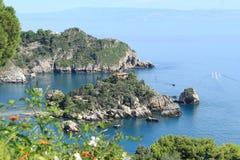 西西里岛海滩,意大利 免版税库存图片