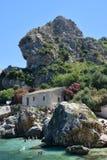 西西里岛海 免版税图库摄影