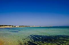 西西里岛的海运 免版税库存图片