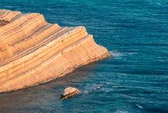 西西里岛的海运 免版税库存照片