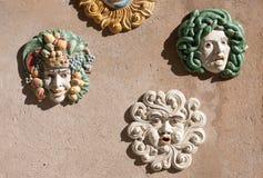从西西里岛的纪念品 库存图片