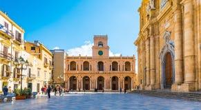 西西里岛,马尔萨拉,意大利 库存图片