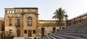 西西里岛, Cefalà ¹ 免版税库存图片