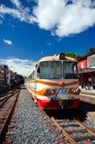 西西里岛, Ferrovia Circumetnea 库存图片