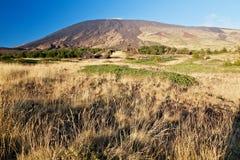 西西里岛: 挂接的Etna避难所 库存图片