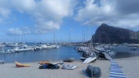 西西里岛-圣维托洛卡波 库存照片