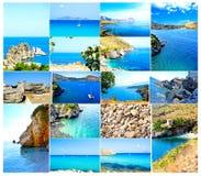 西西里岛 库存照片