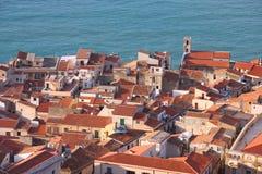 西西里岛- Cefalu 免版税库存照片